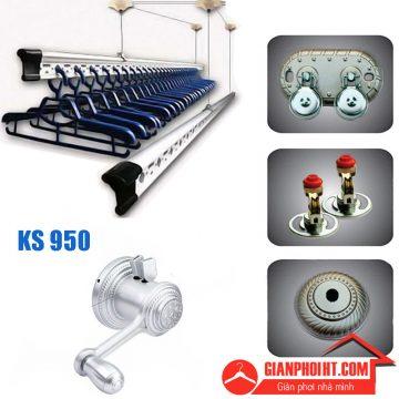 Giàn phơi thông minh hòa phát KS950