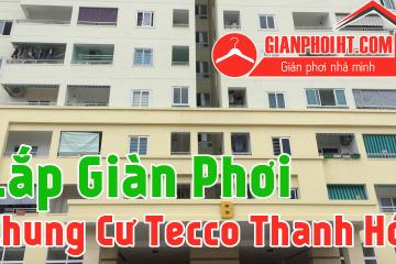 Lắp lưới an toàn ban công và giàn phơi thông minh tại Tecco Thanh Hóa
