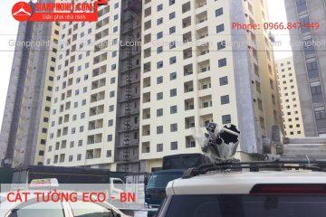 Thi công lắp đặt giàn phơi thông minh, lưới an toàn tại Cát Tường Eco – Bắc Ninh