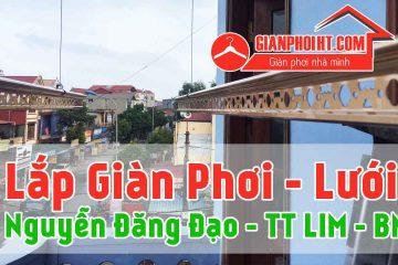 Lắp đặt giàn phơi tại thị trấn Lim –  tỉnh Bắc Ninh