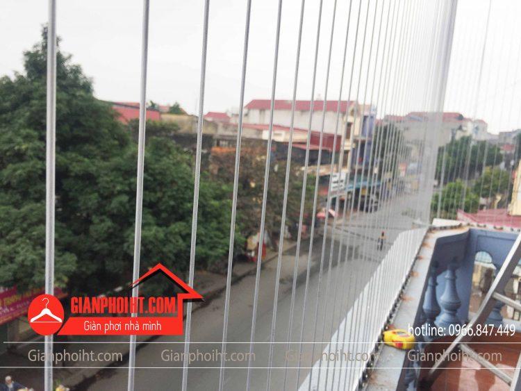Lắp lưới an toàn ban công tại thị Trấn Lim Tiên Du Bắc Ninh