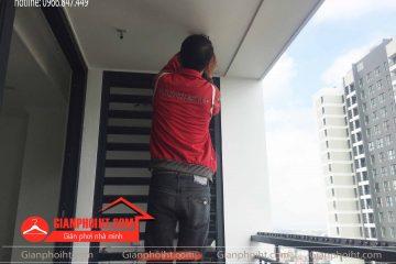 Lắp đặt giàn phơi thông minh tại vincom SC 2209 – TP Bắc Ninh