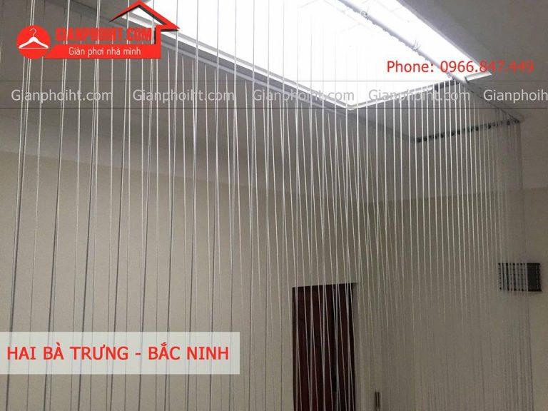 Lắp lưới an toàn ban công tại Hai Bà Trưng - Bắc Ninh