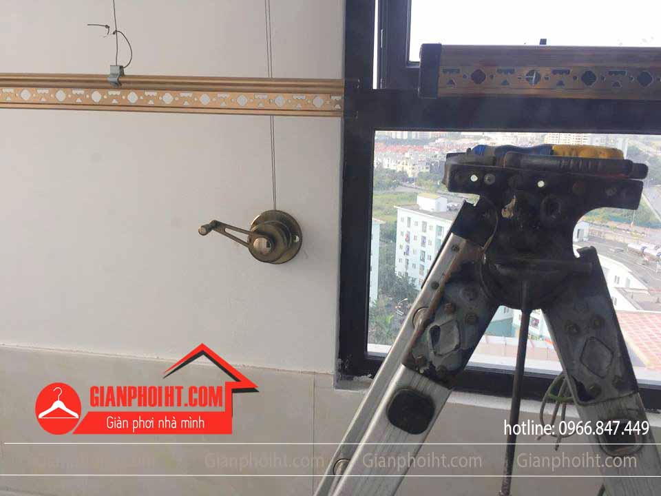 Củ quay và thanh phơi của bộ sản phẩm Sankaku 07