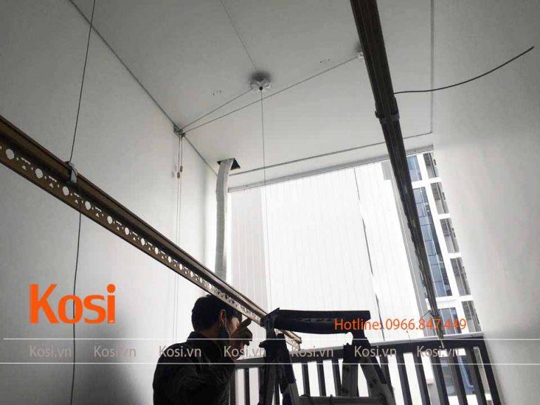 lắp đặt bộ giàn phơi Kosi KS06