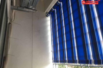 Lắp đặt bạt che nắng và giàn phơi thông minh tại chung cư Momota – Nguyễn Đức Cảnh