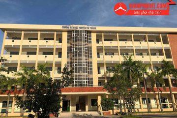Lắp lưới bảo vệ ban công tại trường tiểu học Nguyễn Tất Thành – Hà Nam