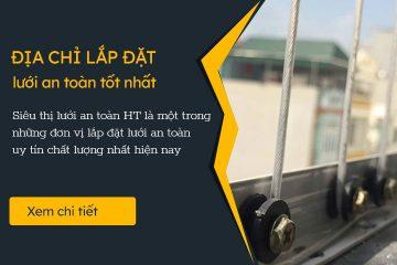 Đại lý lắp đặt lưới an toàn ban công tại Hà Nội